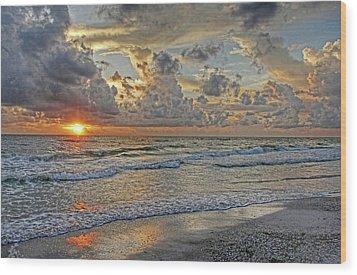 Beloved - Florida Sunset Wood Print