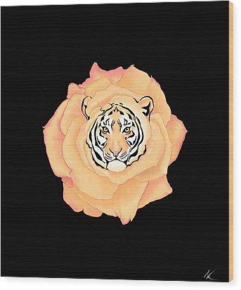 Bengal Blossom Wood Print