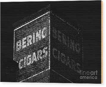 Bering Cigar Factory Wood Print