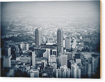 Wood Print featuring the photograph Berjaya by Joseph Westrupp