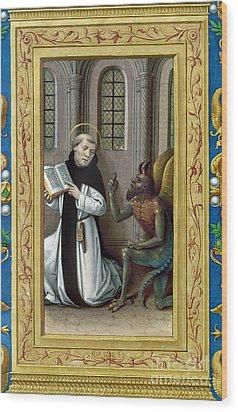 Bernard De Clairvaux Wood Print by Granger