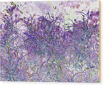 Wood Print featuring the photograph Berry Bush by Ellen O'Reilly