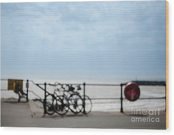 Wood Print featuring the photograph Beside The Seaside #6 by Jan Bickerton