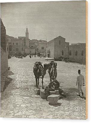 Bethlehem: Street, C1911 Wood Print by Granger