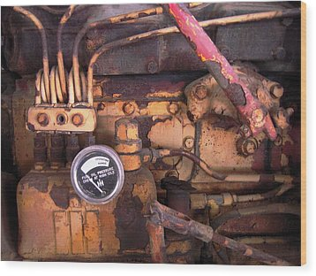 Wood Print featuring the photograph Better Check That Oil Pressure by Don Struke