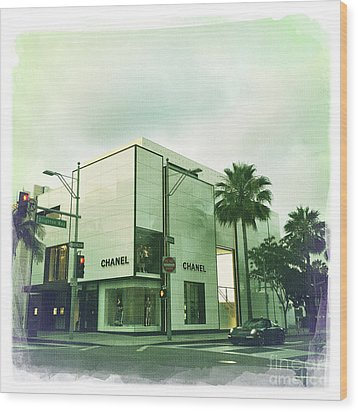 Beverly Hills Rodeo Drive 13 Wood Print by Nina Prommer
