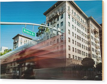 Beveryly Hills Two Wood Print by Josh Whalen
