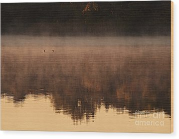 Wood Print featuring the photograph Bev's Retreat by Tamyra Ayles
