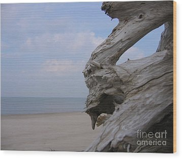 Wood Print featuring the photograph Driftwood by Maciek Froncisz