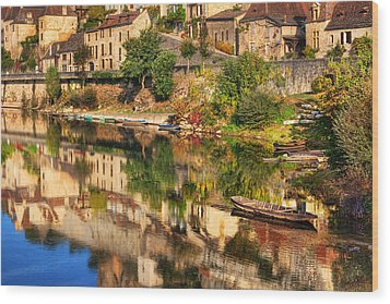 Beynac-dordogne France Wood Print