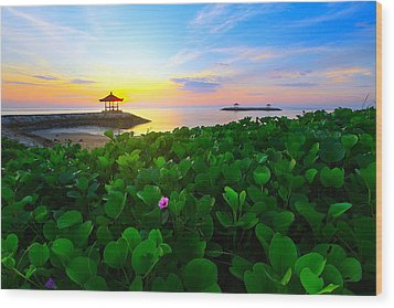 Wood Print featuring the photograph Beyond Beauty  by Kadek Susanto