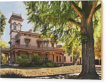 Bidwell Mansion Wood Print