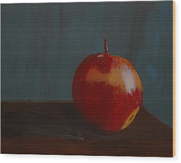 Big Apple Wood Print