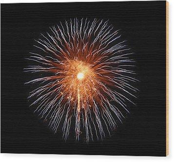 Big Bang Wood Print by Gary Gunderson