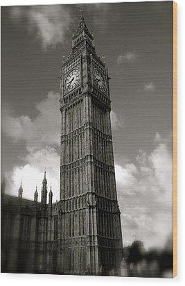 Big Ben Wood Print by John Colley