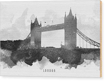 Big Ben London 11 Wood Print
