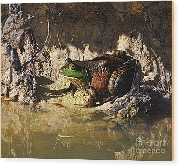 Wood Print featuring the photograph Big Bud by Al Powell Photography USA