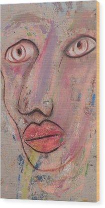 Big Eyes Wood Print by Robert Daniels