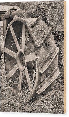Big Iron II Wood Print by JC Findley