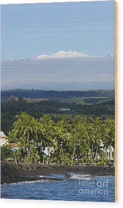 Big Island, Hilo Bay Wood Print by Ron Dahlquist - Printscapes