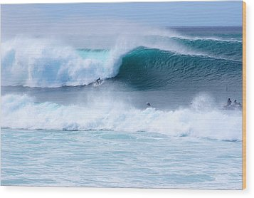 Big Pipeline Pro Wood Print by Kevin Smith