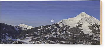 Big Sky Panorama Wood Print