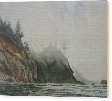 Big Sur Wood Print by Howard Stroman