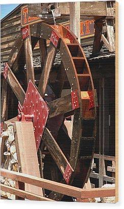 Big Wheels Keep On Turning Wood Print by LeeAnn McLaneGoetz McLaneGoetzStudioLLCcom