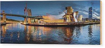 Bilbao Guggenheim Wood Print