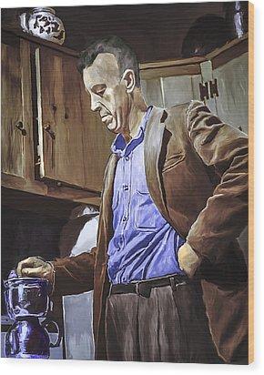 Bill Wilson Wood Print