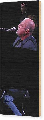 Billy Joel 4 Wood Print by Jack Dagley