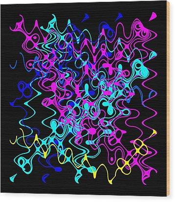 Bingo1-0-c Wood Print by Ron Brown