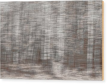 Wood Print featuring the photograph Birch At The Forest Edge by Thomas Young