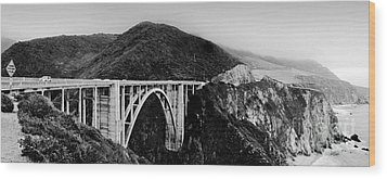 Bixby Bridge - Big Sur - California Wood Print
