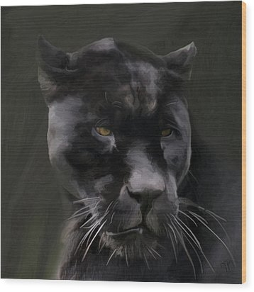 Black Beauty Wood Print by Vic Weiford