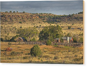Black Mesa Ranch Wood Print