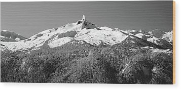 Black Tusk Wood Print by Pierre Leclerc Photography