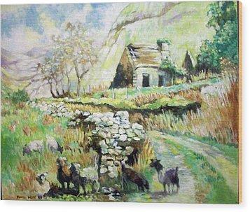 Black Valley- Co Kerry-ireland Wood Print by Paul Weerasekera