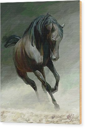 Blackjack Wood Print by James Shepherd