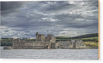 Blackness Castle Wood Print