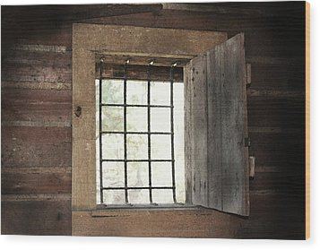 Blacksmith's View Wood Print by Kim Henderson