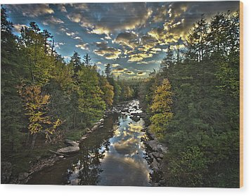 Blackwater River Wood Print