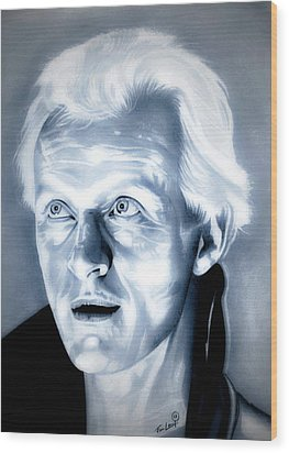 Blade Runner Roy Batty Wood Print by Fred Larucci
