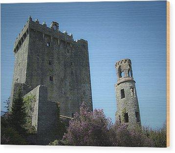 Blarney Castle And Tower County Cork Ireland Wood Print by Teresa Mucha