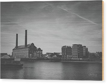 Bleak Industry Wood Print