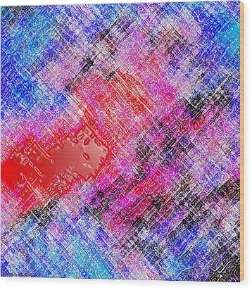Bleeding Soul Wood Print by Cristophers Dream Artistry