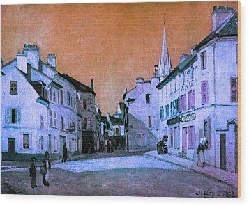 Blend 15 Sisley Wood Print by David Bridburg