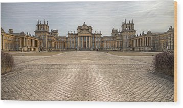 Blenheim Palace Wood Print by Clare Bambers