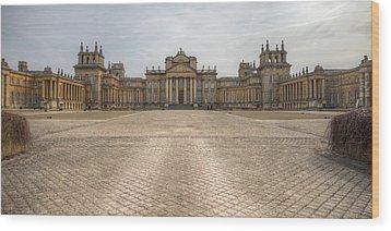 Blenheim Palace Wood Print