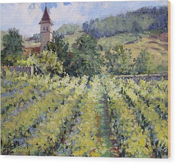 Bless The Harvest Wood Print by L Diane Johnson